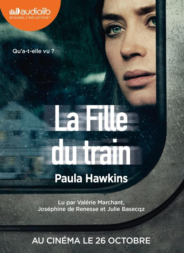 LA FILLE DU TRAIN   LIVRE AUDIO 1CD MP3